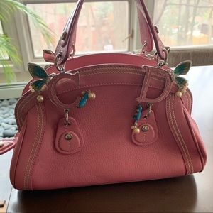 Christian Dior Pink Butterfly Bag
